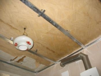 ремонт подвесной потолок