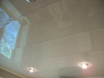 подвесной потолок кухня