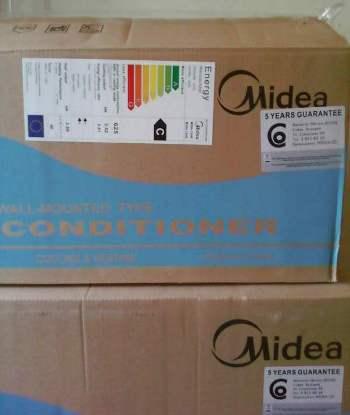 Кондиционер Midea в упаковке