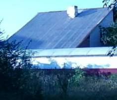 Виды крыш частных домов - односкатная крыша