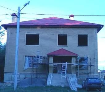 Виды крыш частных домов - шатровая крыша